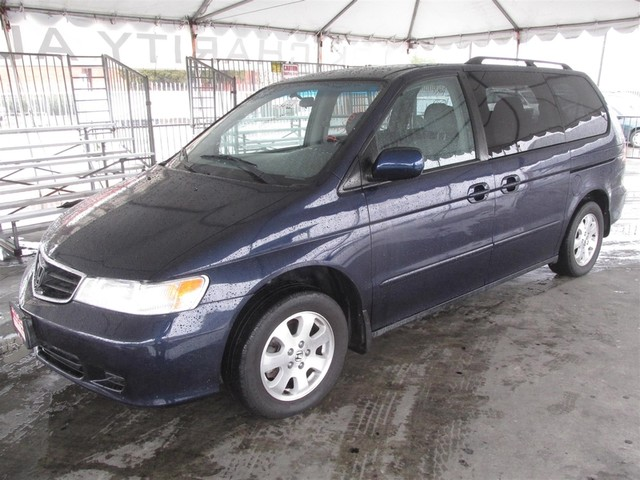 2003 Honda Odyssey EX-L This particular vehicle has a SALVAGE title Please call or email to check