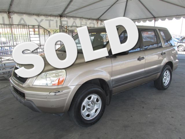 2003 Honda Pilot LX This particular Vehicle comes with 3rd Row Seat Please call or e-mail to chec