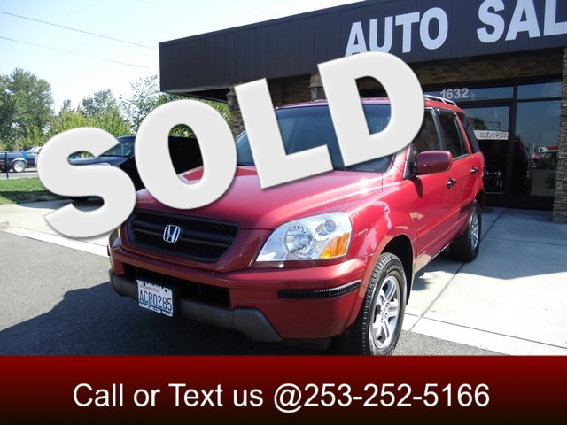 2003 Honda Pilot EX AWD This very well kept 2003 Honda Pilot EX is nice to look at nice to be seen