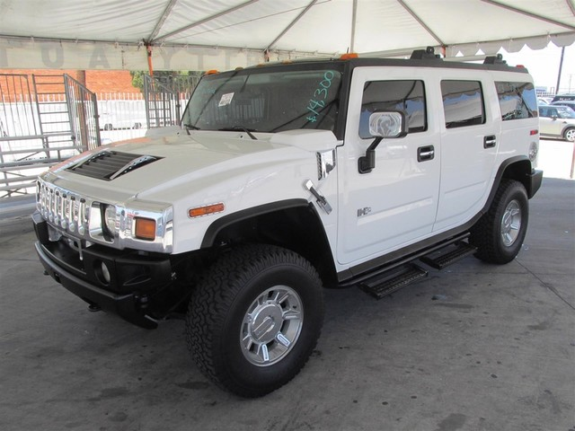 2003 HUMMER H2 This particular vehicle has a SALVAGE title Please call or email to check availabi