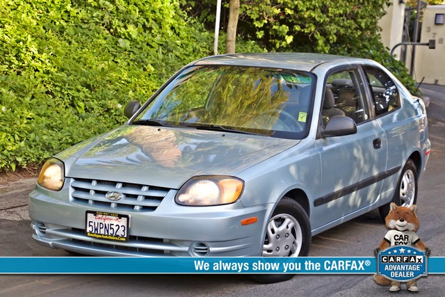 2003 Hyundai ACCENT HATCHBACK 67K ORIGINAL  MLS MANUAL SERVICE RECORDS Woodland Hills, CA 0