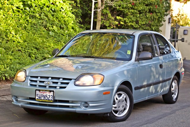 2003 Hyundai ACCENT HATCHBACK 67K ORIGINAL  MLS MANUAL SERVICE RECORDS Woodland Hills, CA 1