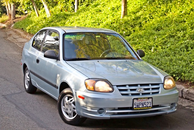 2003 Hyundai ACCENT HATCHBACK 67K ORIGINAL  MLS MANUAL SERVICE RECORDS Woodland Hills, CA 21