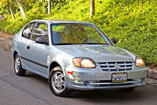2003 Hyundai ACCENT HATCHBACK 67K ORIGINAL  MLS MANUAL SERVICE RECORDS Woodland Hills, CA 4