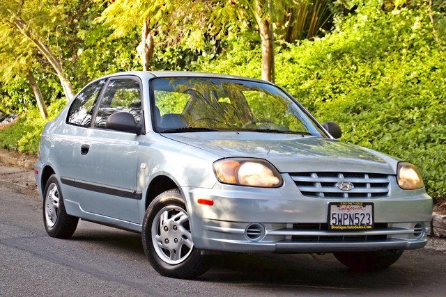 2003 Hyundai ACCENT HATCHBACK 67K ORIGINAL  MLS MANUAL SERVICE RECORDS Woodland Hills, CA 3