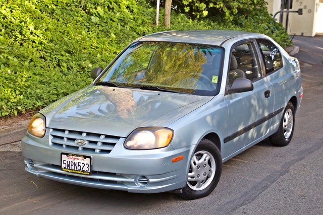 2003 Hyundai ACCENT HATCHBACK 67K ORIGINAL  MLS MANUAL SERVICE RECORDS Woodland Hills, CA 23