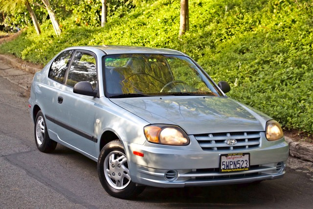 2003 Hyundai ACCENT HATCHBACK 67K ORIGINAL  MLS MANUAL SERVICE RECORDS Woodland Hills, CA 20