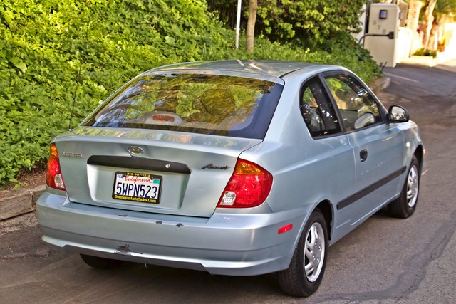 2003 Hyundai ACCENT HATCHBACK 67K ORIGINAL  MLS MANUAL SERVICE RECORDS Woodland Hills, CA 9