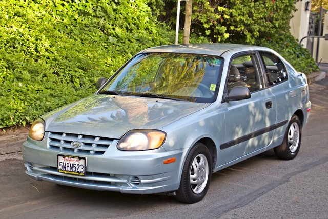 2003 Hyundai ACCENT HATCHBACK 67K ORIGINAL  MLS MANUAL SERVICE RECORDS Woodland Hills, CA 30