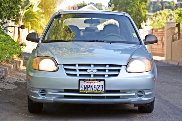 2003 Hyundai ACCENT HATCHBACK 67K ORIGINAL  MLS MANUAL SERVICE RECORDS Woodland Hills, CA 2