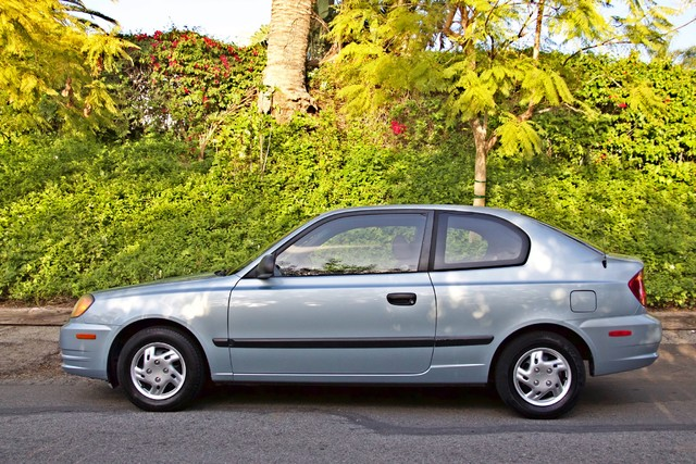 2003 Hyundai ACCENT HATCHBACK 67K ORIGINAL  MLS MANUAL SERVICE RECORDS Woodland Hills, CA 5