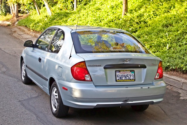 2003 Hyundai ACCENT HATCHBACK 67K ORIGINAL  MLS MANUAL SERVICE RECORDS Woodland Hills, CA 7
