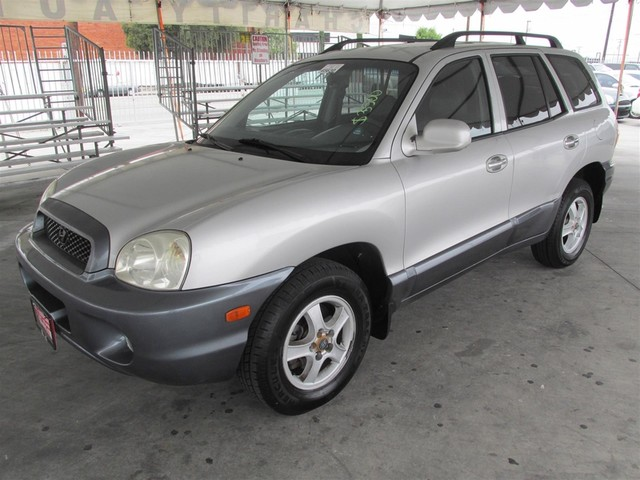 2003 Hyundai Santa Fe LX Please call or e-mail to check availability All of our vehicles are av
