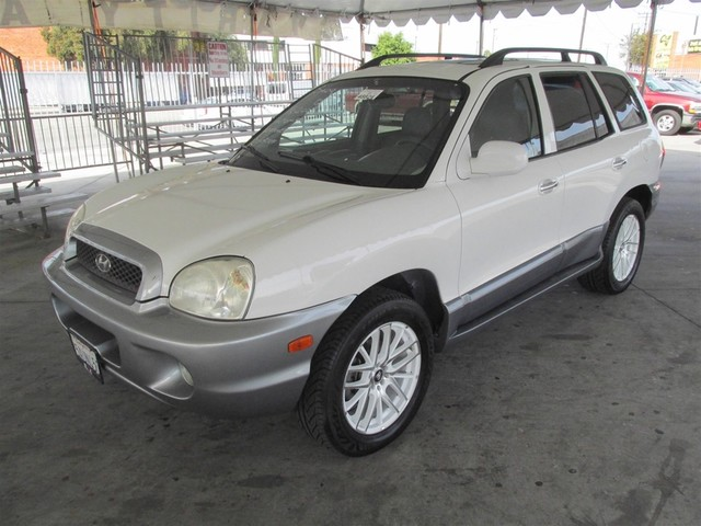 2003 Hyundai Santa Fe GLS Please call or e-mail to check availability All of our vehicles are a