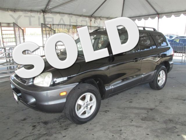 2003 Hyundai Santa Fe Please call or e-mail to check availability All of our vehicles are avail