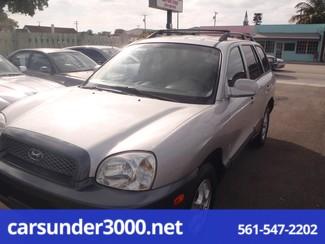 2003 Hyundai Santa Fe GLS Lake Worth , Florida 1