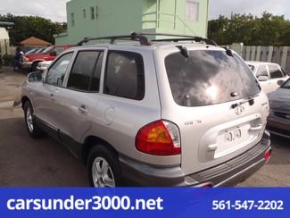 2003 Hyundai Santa Fe GLS Lake Worth , Florida 2