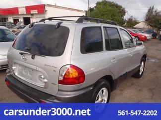 2003 Hyundai Santa Fe GLS Lake Worth , Florida 3