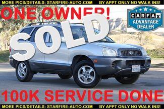 2003 Hyundai Santa Fe Santa Clarita, CA