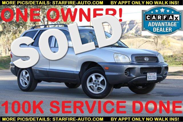 2003 Hyundai Santa Fe Santa Clarita, CA 0