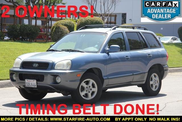 2003 Hyundai Santa Fe GLS Santa Clarita, CA 0