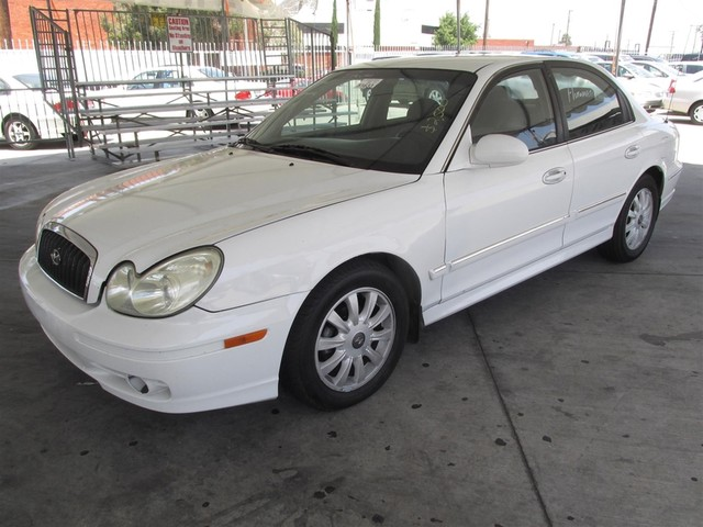 2003 Hyundai Sonata GLS Please call or e-mail to check availability All of our vehicles are ava