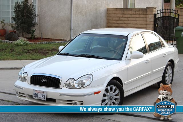 2003 Hyundai SONATA GLS SEDAN AUTOMATIC 1-OWNER SERVICE RECORDS AVAILABLE 2 SETS OF KEYS Woodland Hills, CA 0