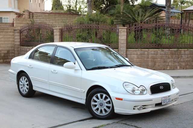 2003 Hyundai SONATA GLS SEDAN AUTOMATIC 1-OWNER SERVICE RECORDS AVAILABLE 2 SETS OF KEYS Woodland Hills, CA 9