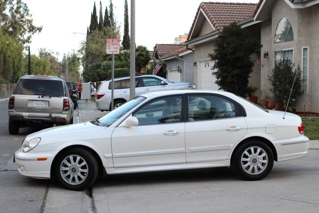 2003 Hyundai SONATA GLS SEDAN AUTOMATIC 1-OWNER SERVICE RECORDS AVAILABLE 2 SETS OF KEYS Woodland Hills, CA 2