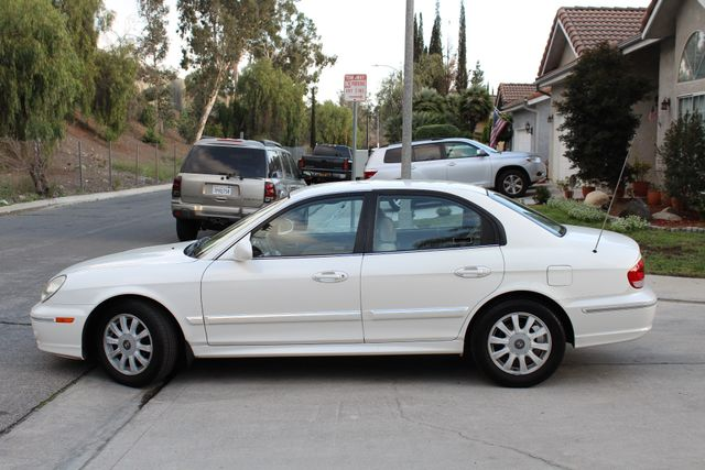 2003 Hyundai SONATA GLS SEDAN AUTOMATIC 1-OWNER SERVICE RECORDS AVAILABLE 2 SETS OF KEYS Woodland Hills, CA 3