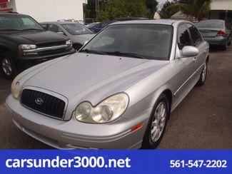 2003 Hyundai Sonata LX Lake Worth , Florida
