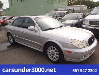 2003 Hyundai Sonata LX Lake Worth , Florida 2