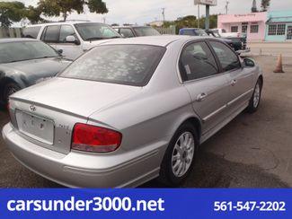 2003 Hyundai Sonata LX Lake Worth , Florida 1