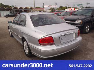 2003 Hyundai Sonata LX Lake Worth , Florida 3
