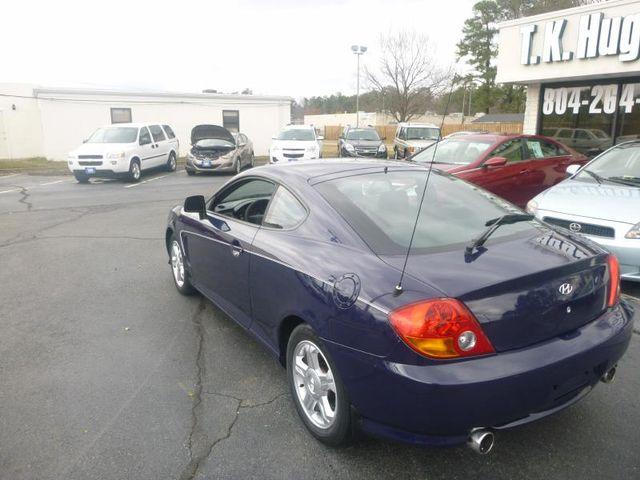 2003 Hyundai Tiburon Richmond, Virginia 4