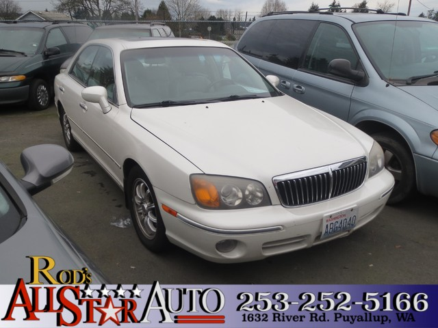 2003 Hyundai XG350 The CARFAX Buy Back Guarantee that comes with this vehicle means that you can b