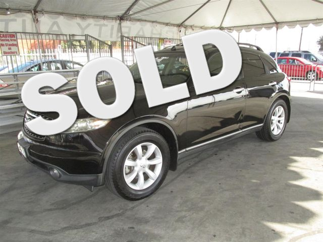 2003 INFINITI FX35 wOptions Please call or e-mail to check availability All of our vehicles ar