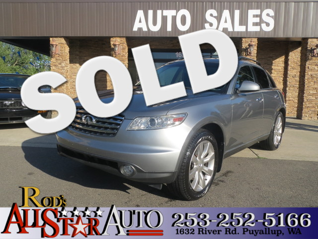 2003 Infiniti FX35 AWD The CARFAX Buy Back Guarantee that comes with this vehicle means that you c