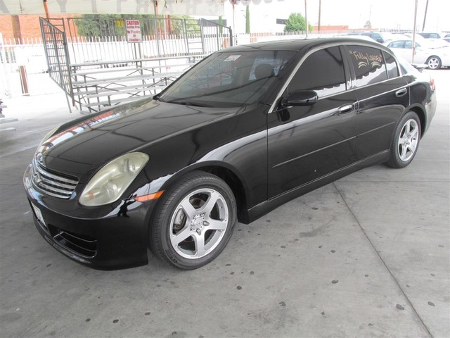 2003 Infiniti G35 wLeather This particular vehicle has a SALVAGE title Please call or email to c