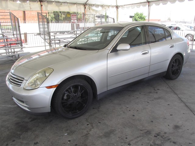 2003 Infiniti G35 wLeather Please call or e-mail to check availability All of our vehicles are