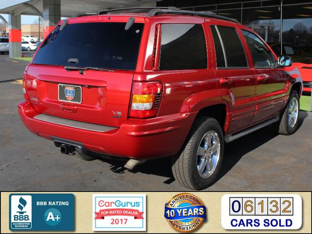 2003 Jeep Grand Cherokee Overland 4WD - SUNROOF - ONLY 48K MILES! Mooresville , NC 2