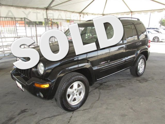 2003 Jeep Liberty Limited Please call or e-mail to check availability All of our vehicles are a