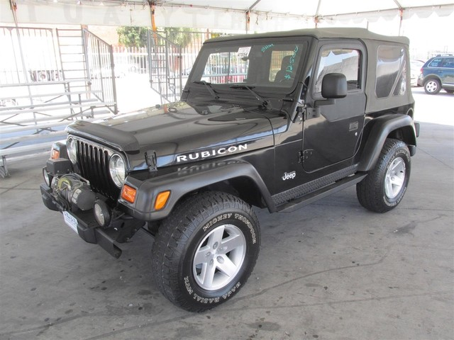 2003 Jeep Wrangler Rubicon Please call or e-mail to check availability All of our vehicles are