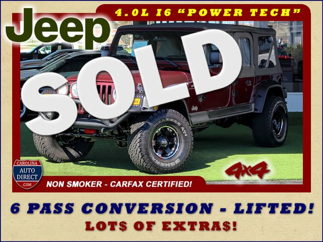 2003 Jeep Wrangler Sport 4X4 - LIFTED - 6 PASS CONVERSION! Mooresville , NC 0