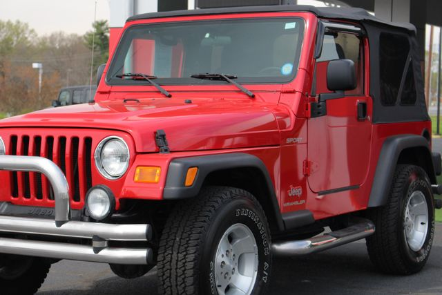 2003 Jeep Wrangler Sport 4x4 - 5SP MANUAL - CUSTOM BUMPERS! Mooresville , NC 25