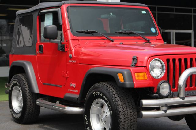 2003 Jeep Wrangler Sport 4x4 - 5SP MANUAL - CUSTOM BUMPERS! Mooresville , NC 24