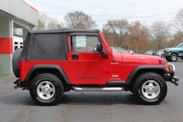 2003 Jeep Wrangler Sport 4x4 - 5SP MANUAL - CUSTOM BUMPERS! Mooresville , NC 13