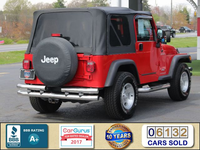 2003 Jeep Wrangler Sport 4x4 - 5SP MANUAL - CUSTOM BUMPERS! Mooresville , NC 2