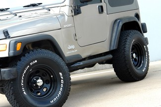 2003 Jeep Wrangler Sport Lifted 4WD Plano, TX 15
