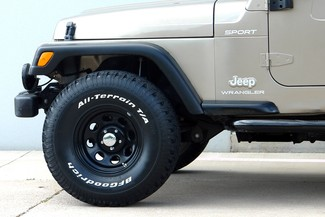 2003 Jeep Wrangler Sport Lifted 4WD Plano, TX 16